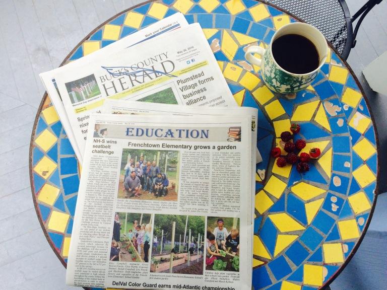 Garden Newspaper